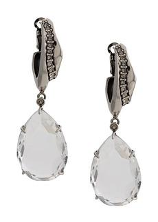 Alexander McQueen crystal pendant earrings