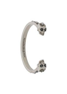 Alexander McQueen Crystal Skull cuff