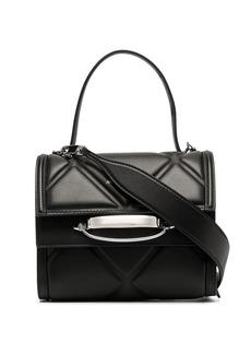 Alexander McQueen diamond-quilt tote bag