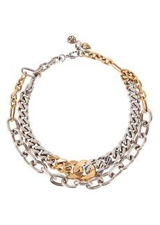 Alexander McQueen Double Chain Choker