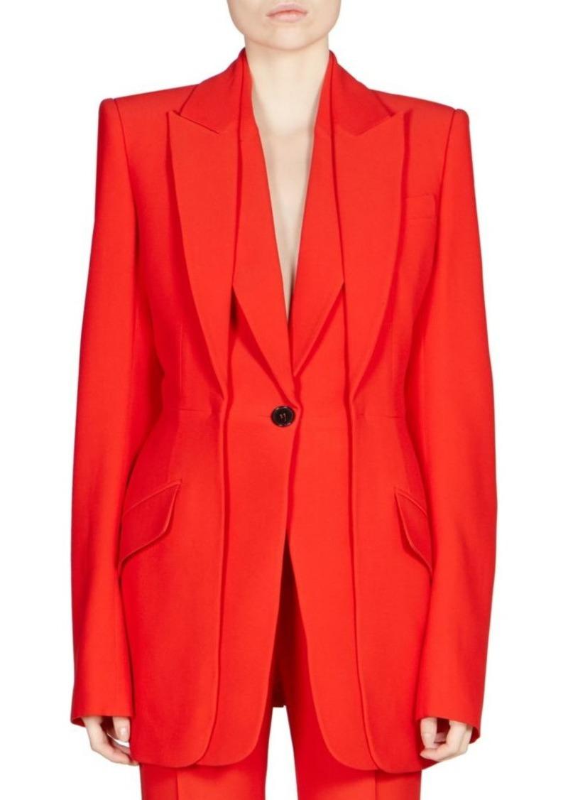 Alexander McQueen Double Lapel Jacket