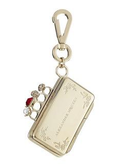 Alexander McQueen Embellished Keychain