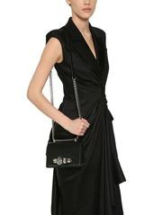 Alexander McQueen Embellished Leather Satchel Bag