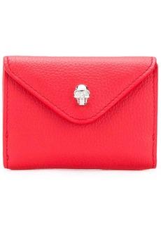 Alexander McQueen flap wallet