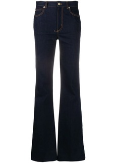 Alexander McQueen flared mid-rise jeans