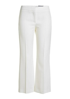 Alexander McQueen Flared Virgin Wool Pants