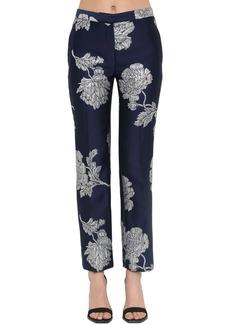 Alexander McQueen Floral Brocade Pants