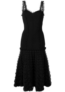 Alexander McQueen frill detail dress
