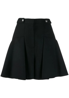 Alexander McQueen full mini pleated skirt