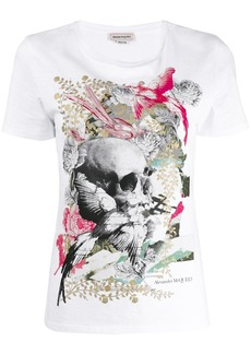 Alexander McQueen Gilded skull T-shirt