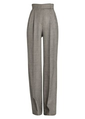 Alexander McQueen Prince Of Wales Wide-Leg Trousers