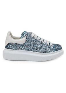 Alexander McQueen Glitter Leather Sneakers