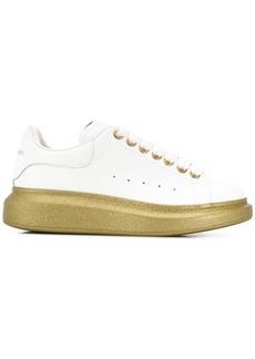 Alexander McQueen Oversized glitter sole sneakers