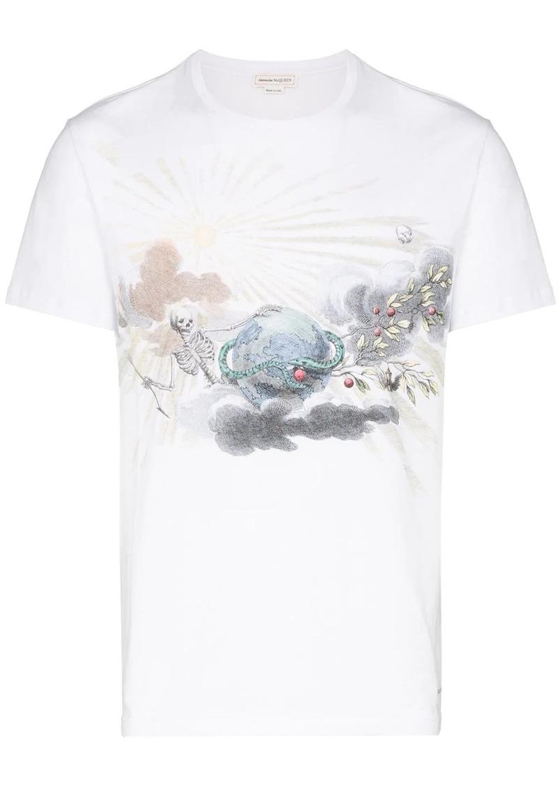 Alexander McQueen graphic print short-sleeve T-shirt
