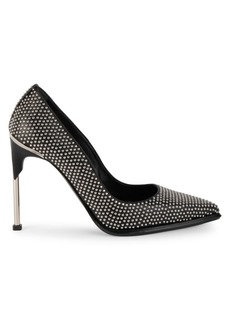 Alexander McQueen Hardware Studded Leather Pumps