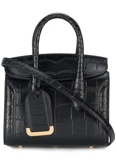Alexander McQueen black Heroine 30 tote bag