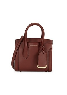 Alexander McQueen Heroine Leather Satchel
