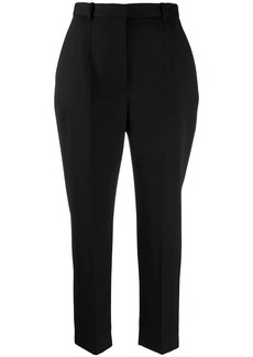 Alexander McQueen high waist cigarette trousers