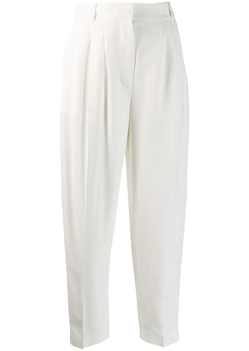 Alexander McQueen high waist tailored trousers