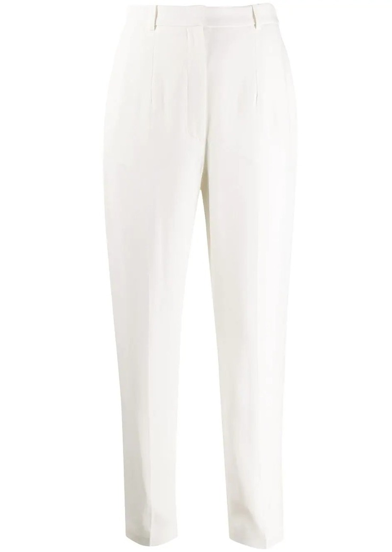 Alexander McQueen high-waist tailored trousers