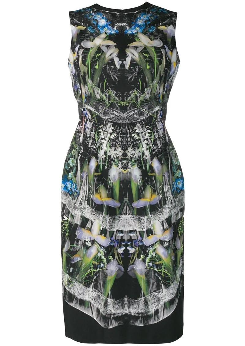 Alexander McQueen hologram print dress
