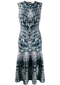 Alexander McQueen intarsia knit dress