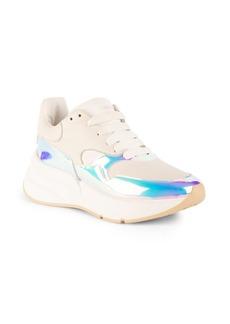 Alexander McQueen Iridescent Chunky Sneakers