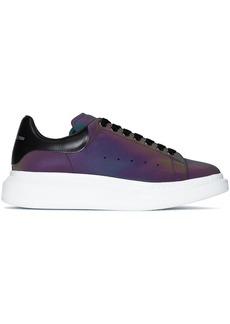 Alexander McQueen iridescent Oversized low-top sneakers