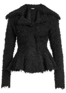 Alexander McQueen Jacket with Mohair, Wool and Cashmere