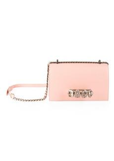 Alexander McQueen Jeweled Leather Satchel