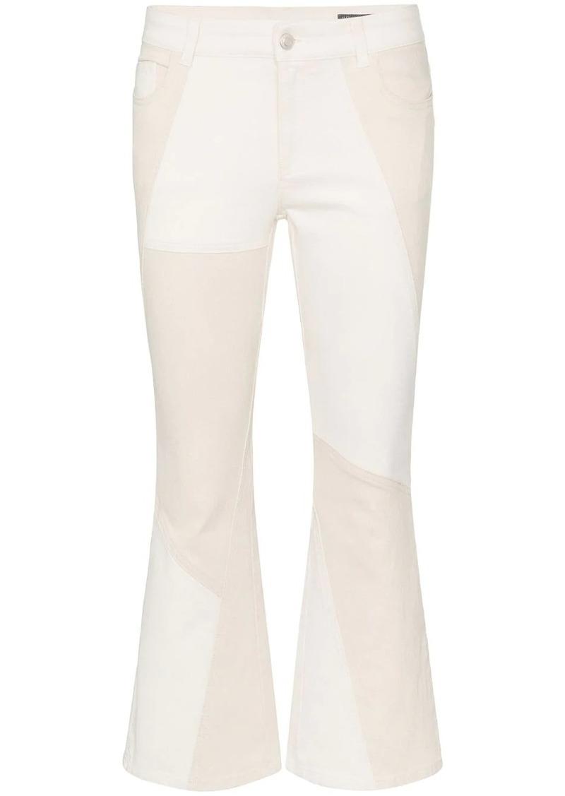 Alexander McQueen kick flare jeans
