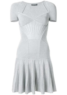 Alexander McQueen knit mini dress