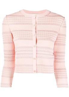 Alexander McQueen knitted cardigan