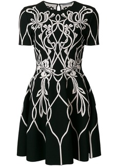Alexander McQueen knitted mini dress