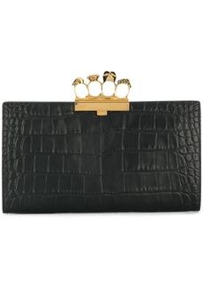 Alexander McQueen Knuckle Duster clutch bag