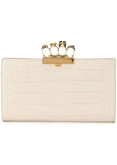 Alexander McQueen knuckleduster clutch bag