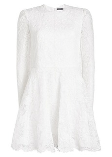 Alexander McQueen Lace Dress