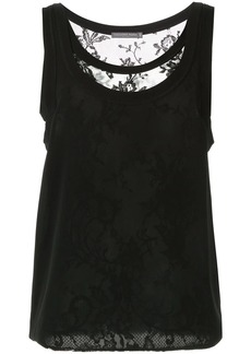 Alexander McQueen layered lace vest top