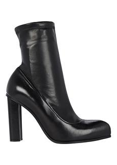 Alexander McQueen Leather Ankle Booties
