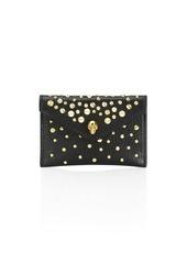 Alexander McQueen Leather Envelope Card Holder
