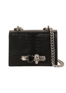 Alexander McQueen Lizard Embossed Leather Bag