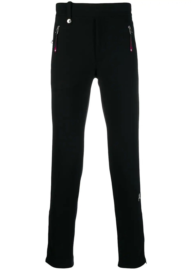 Alexander McQueen logo embroidered track pants