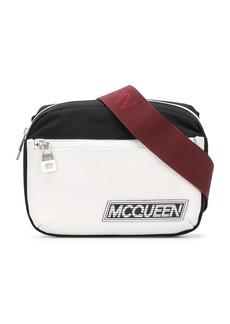 Alexander McQueen logo patch belt bag