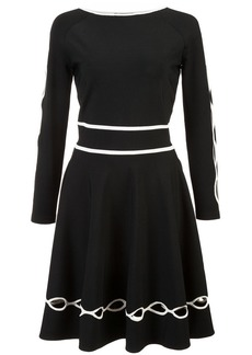 Alexander McQueen long sleeve dress