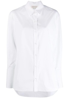 Alexander McQueen longsleeved cotton shirt