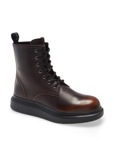 Men's Alexander Mcqueen Plain Toe Boot