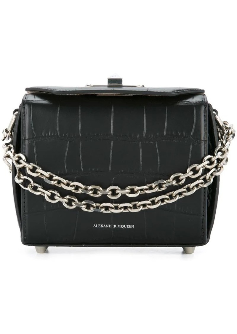 Alexander McQueen mini Box bag