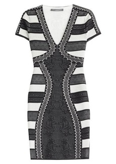 Alexander McQueen Mini Dress with Silk