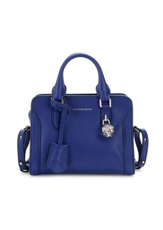 Alexander McQueen Mini Padlock Leather Shoulder Bag