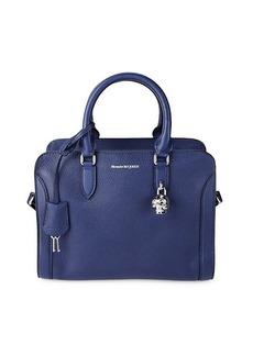 Alexander McQueen Mini Padlock Leather Top Handle Bag